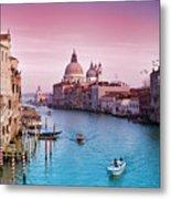 Venice Canale Grande Italy Metal Print