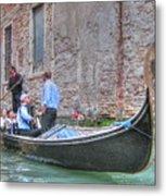 Venice Channels Metal Print