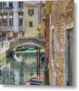 Venice Channels1  Metal Print
