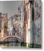 Venice Channelss Metal Print