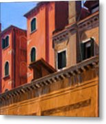 Venice Details Italy Metal Print