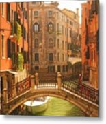 Venice Dream Metal Print by Denise Darby