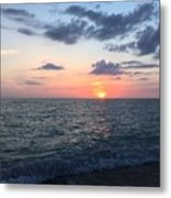Venice Florida Sunset Metal Print