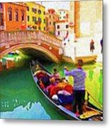 Venice Gondola Series #1 Metal Print