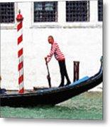 Venice Gondola Series #5 Metal Print