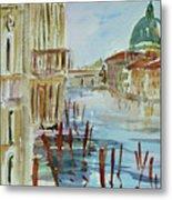 Venice Impression IIi Metal Print