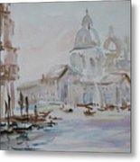 Venice Impression Vi Metal Print
