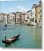 Venice In Colors Metal Print