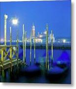Venice Lagoon At Dusk Metal Print