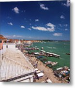 Venice Lagoon Panorama - Bird View Metal Print