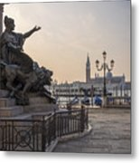 Venice - Monumento Nazionale A Vittorio Emanuele  Metal Print