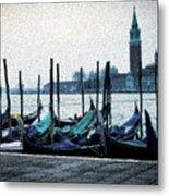 Venice Morning Metal Print