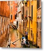 Venice Passage Metal Print
