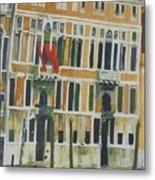 Venice Scene.   Metal Print