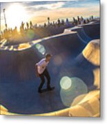 Venice Skate Park Metal Print