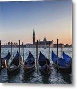 Venice - Sunset Metal Print