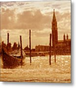 Venice V Metal Print