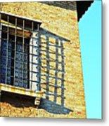 Venice Window Metal Print