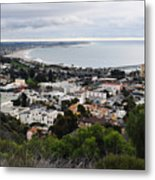Ventura Coast Skyline Metal Print