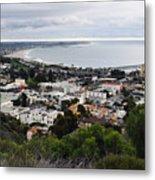 Ventura Coast Skyline Metal Print