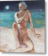 Venus Of The Moon Metal Print