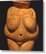 Venus Of Willendorf Metal Print