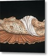 Venus On The Half-shell Metal Print