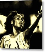 Venus Williams Match Point Metal Print