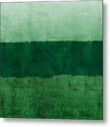 Verde Landscape 1- Art By Linda Woods Metal Print