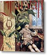 Verdi E Il Falstaff Metal Print