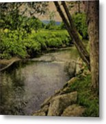 Vermont And Rural Beauty Metal Print