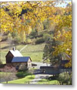 Vermont Beauty Metal Print by Lyn Vic