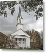 Vermont Church Metal Print