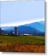 Vermont Farm Metal Print by Bill Cannon
