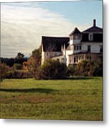 Vermont Farmhouse Metal Print