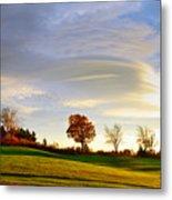Vermont Hilltop Sunrise Metal Print