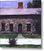 Vermont House Metal Print