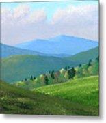 Vermont Pastures Metal Print