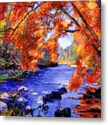 Vermont River Metal Print