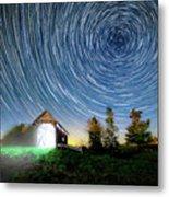 Vermont Starry Night Metal Print