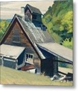 Vermont Sugar House Metal Print