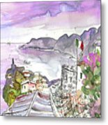 Vernazza In Italy 03 Metal Print