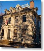 Vernon House Newport Rhode Island Metal Print