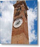 Verona Italy - Beautiful Torre Dei Lamberti Metal Print