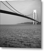 Verrazano Bridge 1 Metal Print