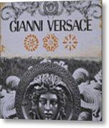 Versace Logo Metal Print