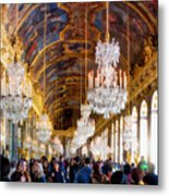Versaille Assembly Metal Print