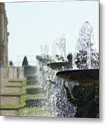 Versailles Fountains Metal Print