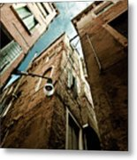 Vertical Sky Metal Print