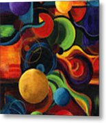 Vertical Synergy Metal Print